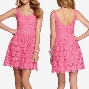 Lilly Pulitzer Resort Calhoun Dress Eyelet Lace